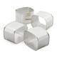 The Cambridge Collection Napkin Rings, Set of 4