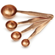Copper Measuring Spoons, Set of 4
