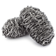 Stainless Steel Grillware Scrubbers, Set of 2