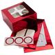 Wilton Red Foil Treat Box