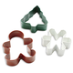 Wilton Christmas Cookie Cutters, Set of 3