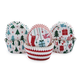 Christmas Mini Muffin Liners, Set of 96