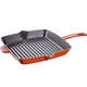 Staub Burnt-Orange Grill Pan