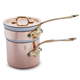 Mauviel M'250b Copper Bain Marie with Lid, 0.8 qt.