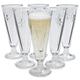 La Rochère Fleur-De-Lys Champagne Flutes, Set of 6
