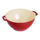 Staub Cherry Ceramic Serve Bowls