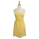 Yellow Embroidered Spring Apron