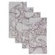 Vintage Floral Napkins, Set of 4