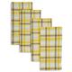 Shirt Plaid Napkins, Set of 4