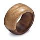 Two-Tone Wood Napkin Ring