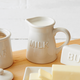 Embossed Milk Carafe
