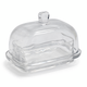 European Glass Butter Dish