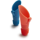 Metrokane Flipper Pourers & Stoppers, Set of 2