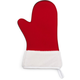Red Santa Oven Mitt