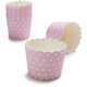 Paper Eskimo® Pink and White Dot Baking Cups, Set of 25