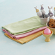 Pastel Gingham Kitchen Towels, Set of Three