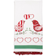 Lovebirds Vintage-Style Kitchen Towel