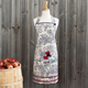 Rooster Toile Vintage-Style Apron