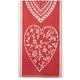 Heart Jacquard Kitchen Towel