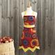 Sunflower Vintage-Style Apron