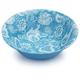 Batik Serve Bowl, Turquoise