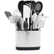 OXO® SteeL™ 15-Piece Everyday Kitchen Tool Set