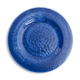 Swirl Plate, Cobalt