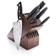Bob Kramer Stainless Damascus 7-Piece Block Set by Zwilling J.A. Henckels®