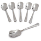 Sur La Table® Stainless Steel Ice Cream Spoons, Set of 6