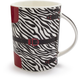Zebra Handbag Mug, 14 oz.