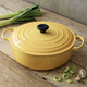 Le Creuset Signature Honey Round Wide French Oven, 6.75 qt.