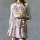 French Toile Vintage-Inspired Apron