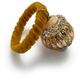 Gold Jeweled-Onion Napkin Ring