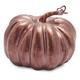 Decorative Bronze Metallic Pumpkin