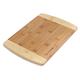 Sur La Table Two-Tone Bamboo Cutting Board