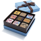 MarieBelle 9-Piece Chocolate Ganache Box
