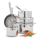 All-Clad® Stainless Steel 10-Piece Set