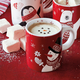 Marshmallow Snowman Beverage Topper