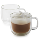 Zwilling J.A. Henckels Sorrento Plus Double-Wall Cappuccino Glasses, 15 oz., Set of 2