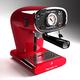 Espressione Red Café Retro Espresso Machine