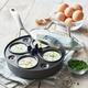 Sur La Table Dishwasher-Safe Hard-Anodized Nonstick Egg Poacher