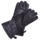 Black Leather Grill Gloves, Set of 2