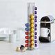 Swissmar® CAPstore Chrome Holder for 40 Nespresso Capsules