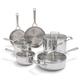 KitchenAid® Tri-Ply Stainless Steel 10-Piece Set
