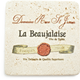 Travertine Beaujolais Wine Label Coaster