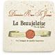 Travertine Beaujolais Wine Label Coaster