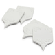 Porcelain Cheese Markers, Set of 4