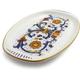 Deruta-Style Rectangular Platter, 11½