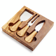 Olivewood Cheese Knife Set