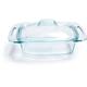 Pyrex® Rectangular Glass Casserole Dish,  2 qt.